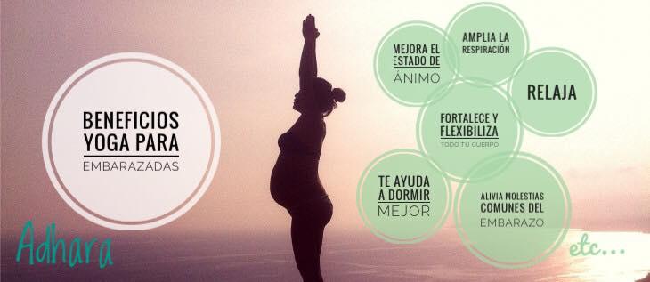 beneficios yoga para embarazadas
